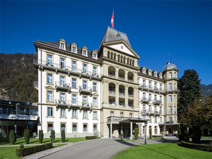 Lindner Grand Hotel Beau Rivage - Hotelansicht