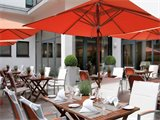 Lindner Hotel Am Michel - Terrasse